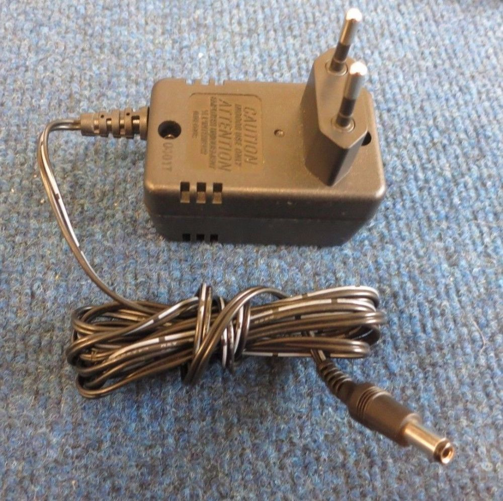 Allied Data A20925GC European 2-Pin Plug AC Power Adapter Charger 2.25W 9V 0.25A